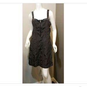 Marc by Marc Jacobs sleeveless silk corset dress